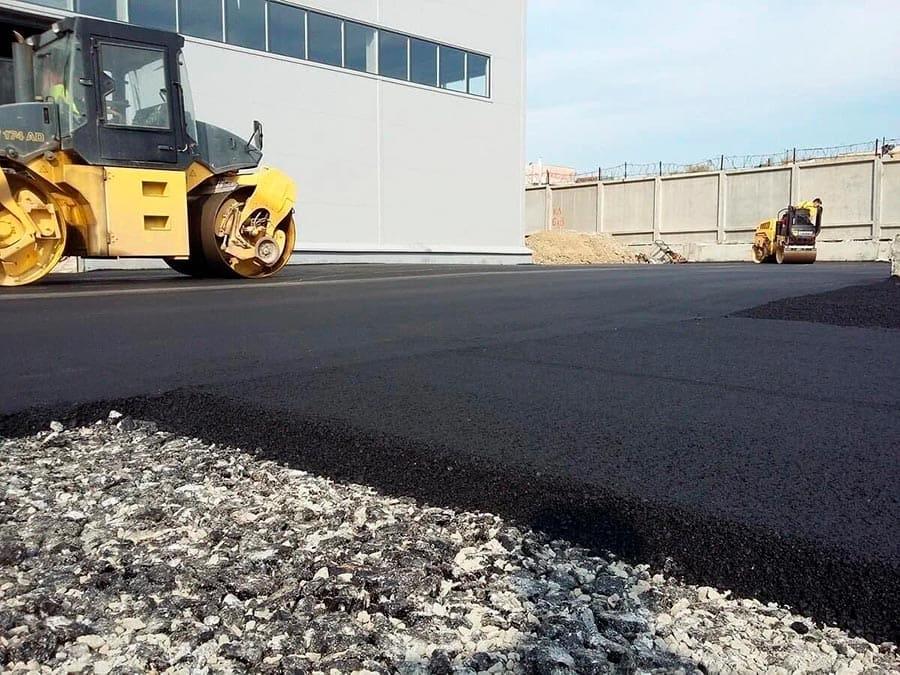 Строительство и ямочный ремонт асфальтобетонного покрытия